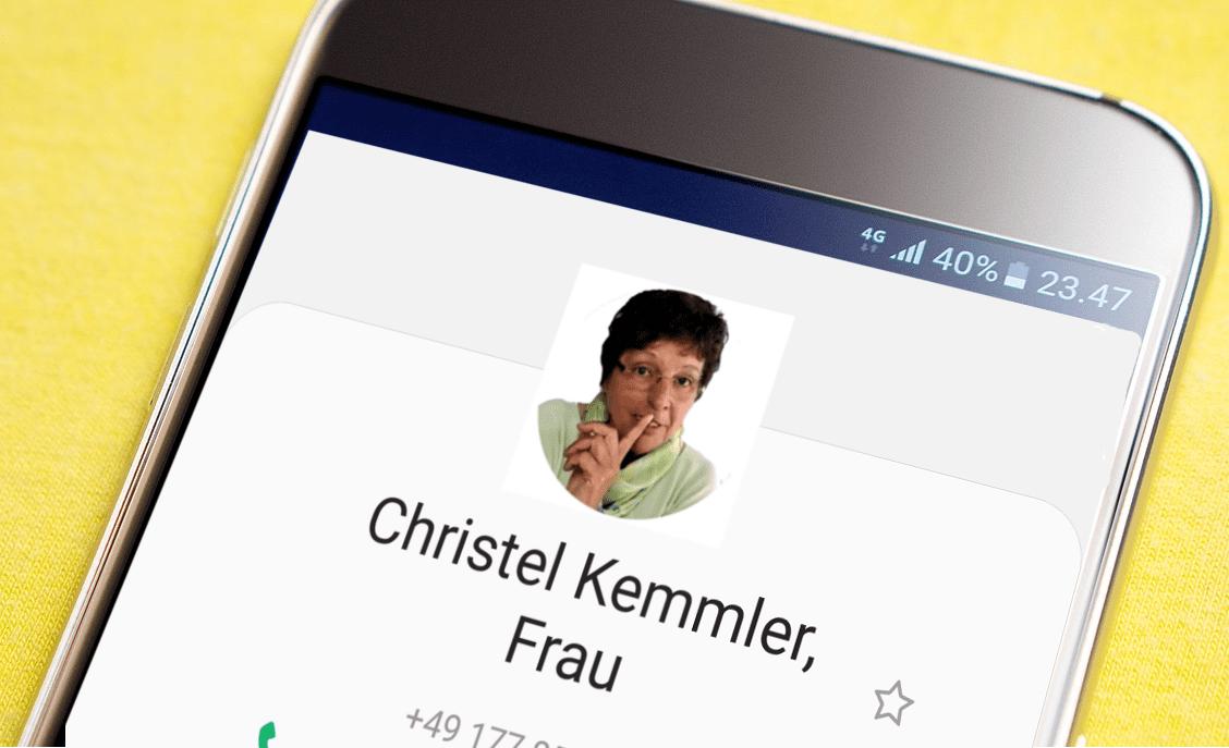 Kontakt Christel Kemmler