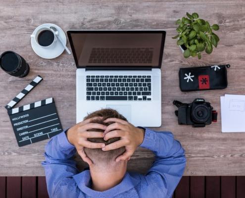 Redaktionsplan verhindert Schreibblockade