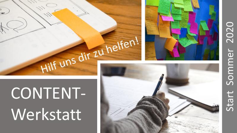 Content-Werkstatt Einladung