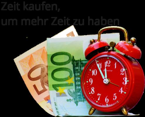Kaufst du Zeit kaufst du Glück